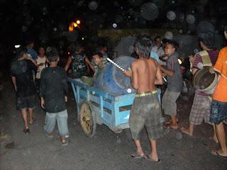 Tradisi Ramadhan, Begarakan saur, tradisi Puasa Indonesia, Adat budaya Indonesia