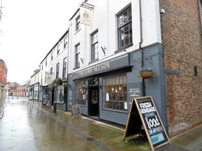 External picture one of the refurbished Lord Nelson Hotel in Brigg town centre, November 2018 - Nigel Fisher's Brigg Blog
