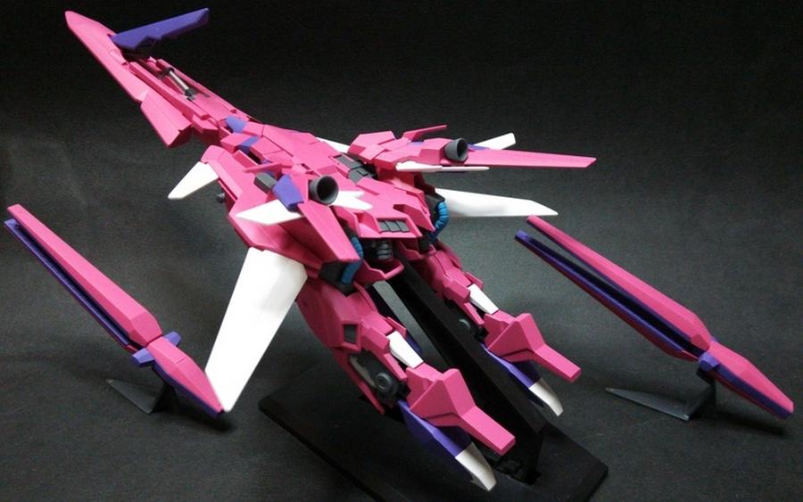 Custom Build: 1/144 Gundam Myzr Delta Kai