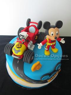 bolo cake Mickey e os Super Pilotos  bragança