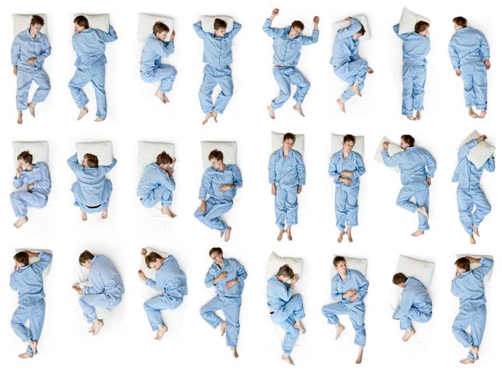 Tips Ketahui Kelakuan Dari Cara Tidur