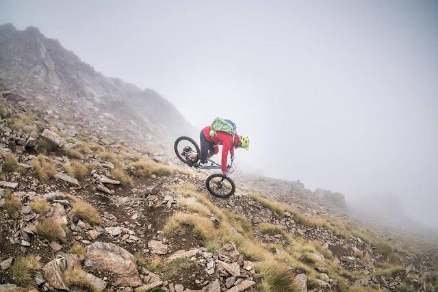MTB - Mountainbike Tour Isola 2000 Cima de la Lombarda 2800 m.ü.A.