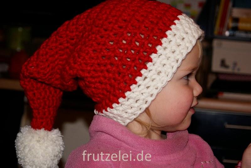 Frutzelei Meine Kreativwerkstatt Die Mütze Vom Weihnachtsmann