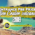 Entrance Fee Price Ijen Crater volcano 2019