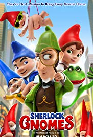Sherlock Gnomes | Full Animation Movie (2018) HD-Rip, Garden gnomes, Gnomeo & Juliet, recruit renowned detective Sherlock Gnomes to investigate the mysterious disappearance of other garden ornaments