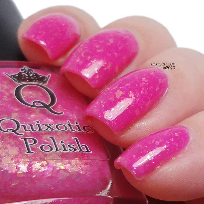 xoxoJen's swatch of Quixotic Polish  Now, more than ever