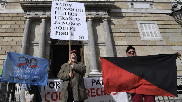 """Rajoy actuó como un franquista contra independentismo catalán"""