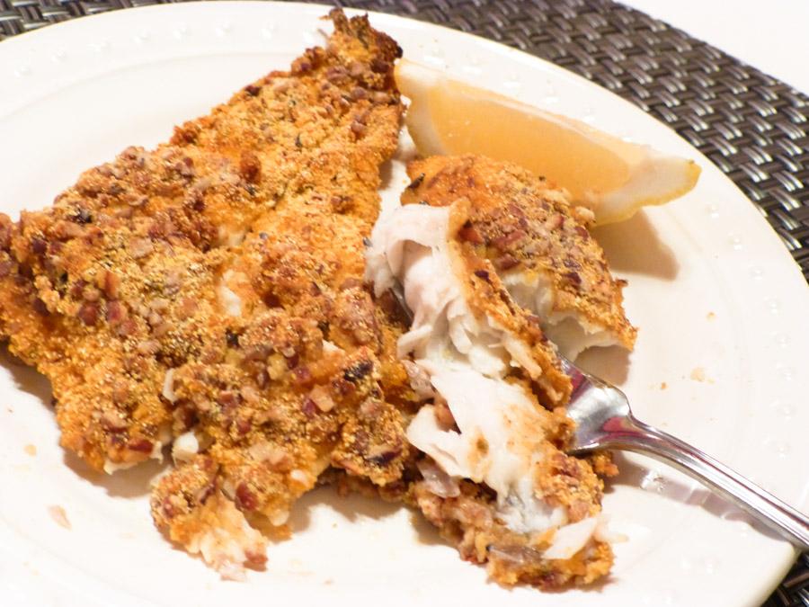 copeland's pecan crusted catfish recipe