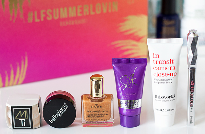 Look Fantastic Beauty Box | July 2016