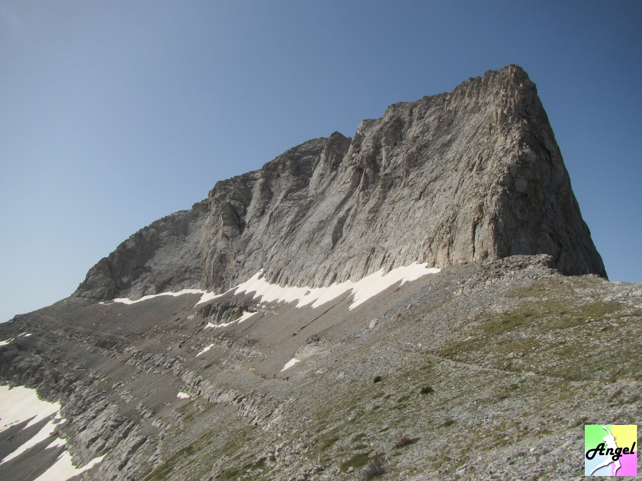 How to climb the highest mountain in greece mount olympus 2918m looking back stefani mind blowing sciox Choice Image