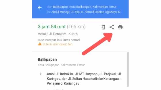 tambah google map dalam artikel