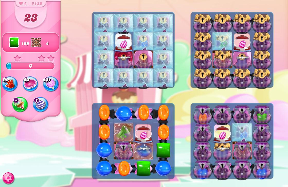 Candy Crush Saga level 5120