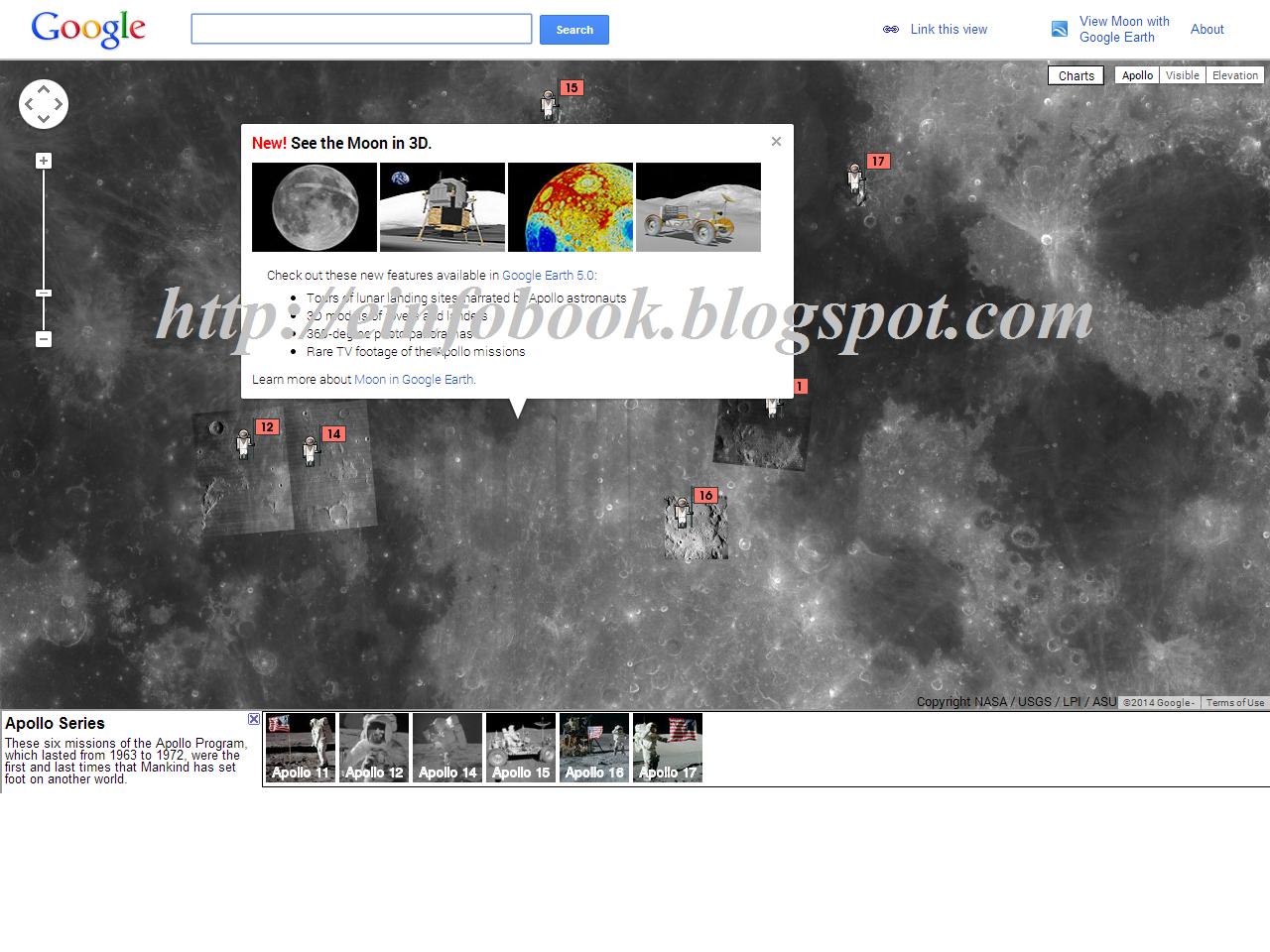 E info Book Google moon