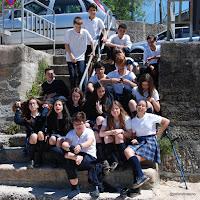 Alumnos de 2º ESO A. Sagrado Corazón  de Placeres (Pontevedra)