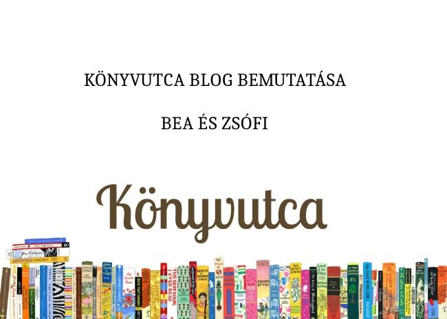 Könyvutca blog bemutatása – Bea és Zsófi