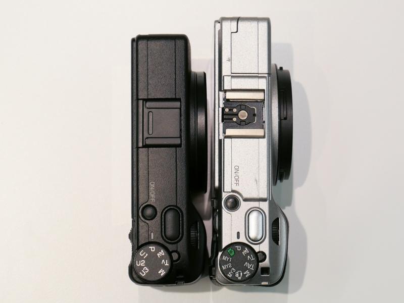 Разница в габаритах Ricoh GR III и GR II