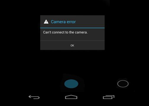 "Penyebab dan Cara mengatasi ""Error Cannot Connect to Camera"" android"