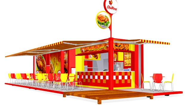 Container Restaurant,Container Cafe Design