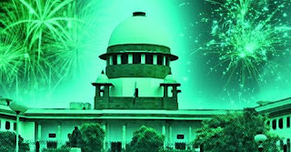 SC allows Firecrackers on Diwali, Christmas, New Year