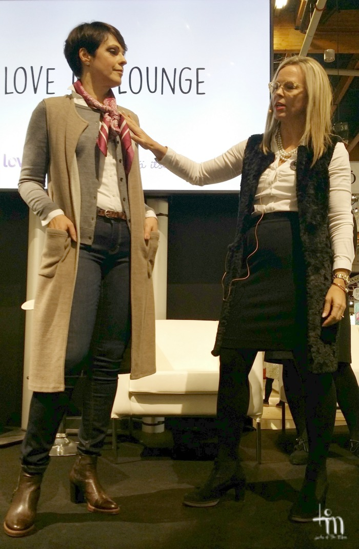 Doppwoman ja Anna-Liisa Tilus I love me -messuilla
