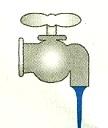 Dibujo: Chorro de agua de 3,2 mm