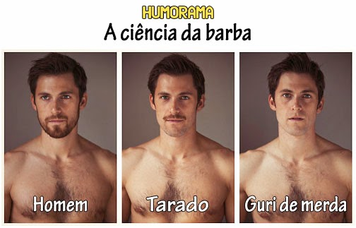 a ciencia da barba masculina