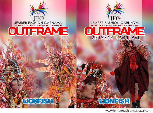 Jember Fashion Carnaval 2015 Defile Lionfish