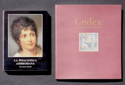Pinacoteca Ambrosiana e Biblioteca Ambrosiana - 2 libri - annunci