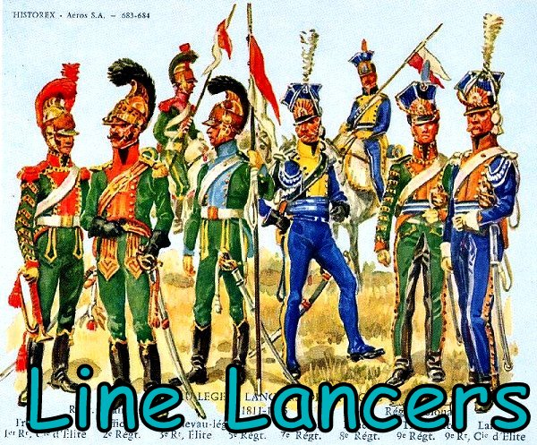 paxx88 providing a painters view french line lancers