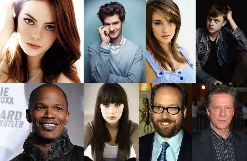 Yet Another Movie Blog: The Amazing Spider-Man 2 A-List Cast