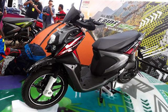 Harga dan spesifikasi All New Yamaha X-Ride 125