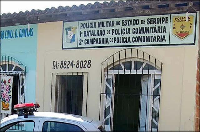 Bandidos arrombam e invadem PAC da polícia Militar em Aracaju