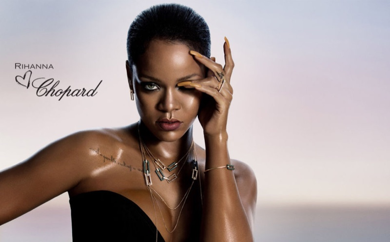 Rihanna collaborates with Chopard on a luxury jewellery collection