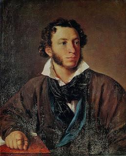 Vasily Tropinin. Portrait of Alexander Pushkin. 1827. Oil on canvas
