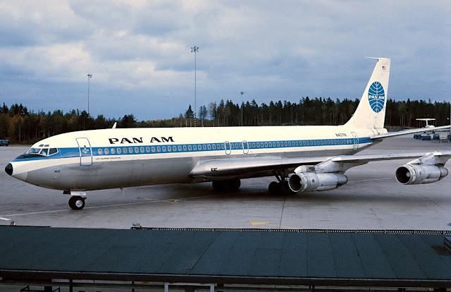 Boeing 707 Pan American World Airways - N407PA