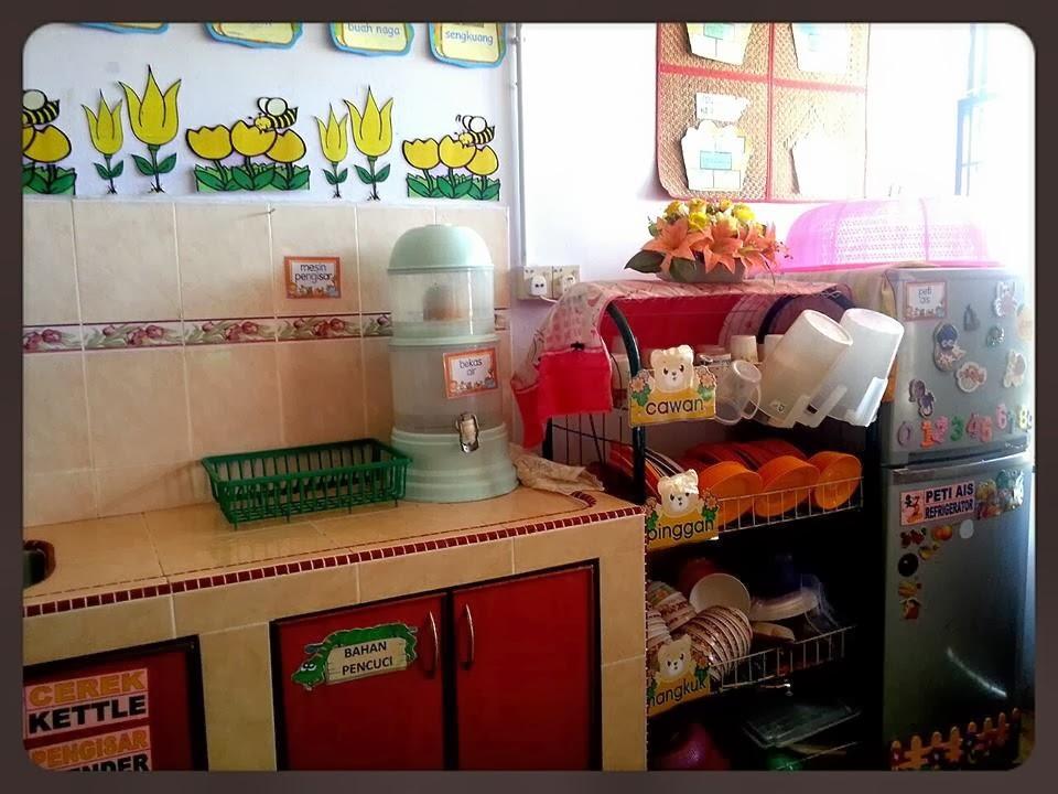 Ruang Dapur Prasekolah Aulad Bestari Kredit Untuk Ppm Cantik Meja Dia