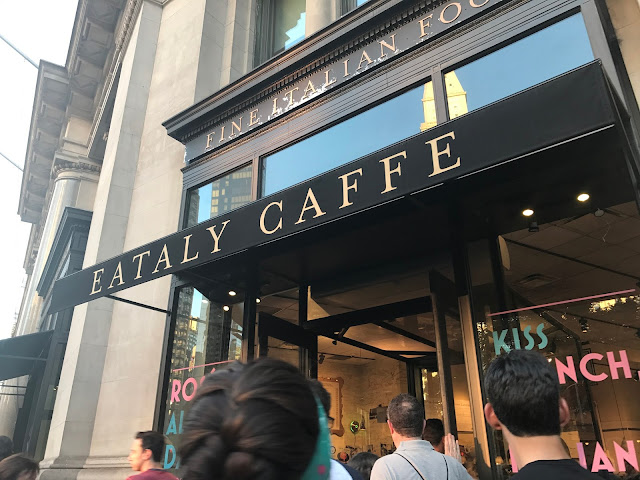 NYC, Eataly, girls weekend