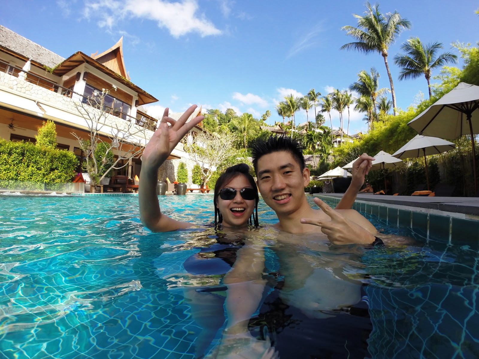 Phuket part four ayara private jacuzzi swimming pool - How soon can you swim after shocking pool ...