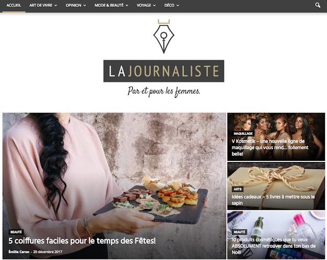 La Journaliste blogue blog québécois