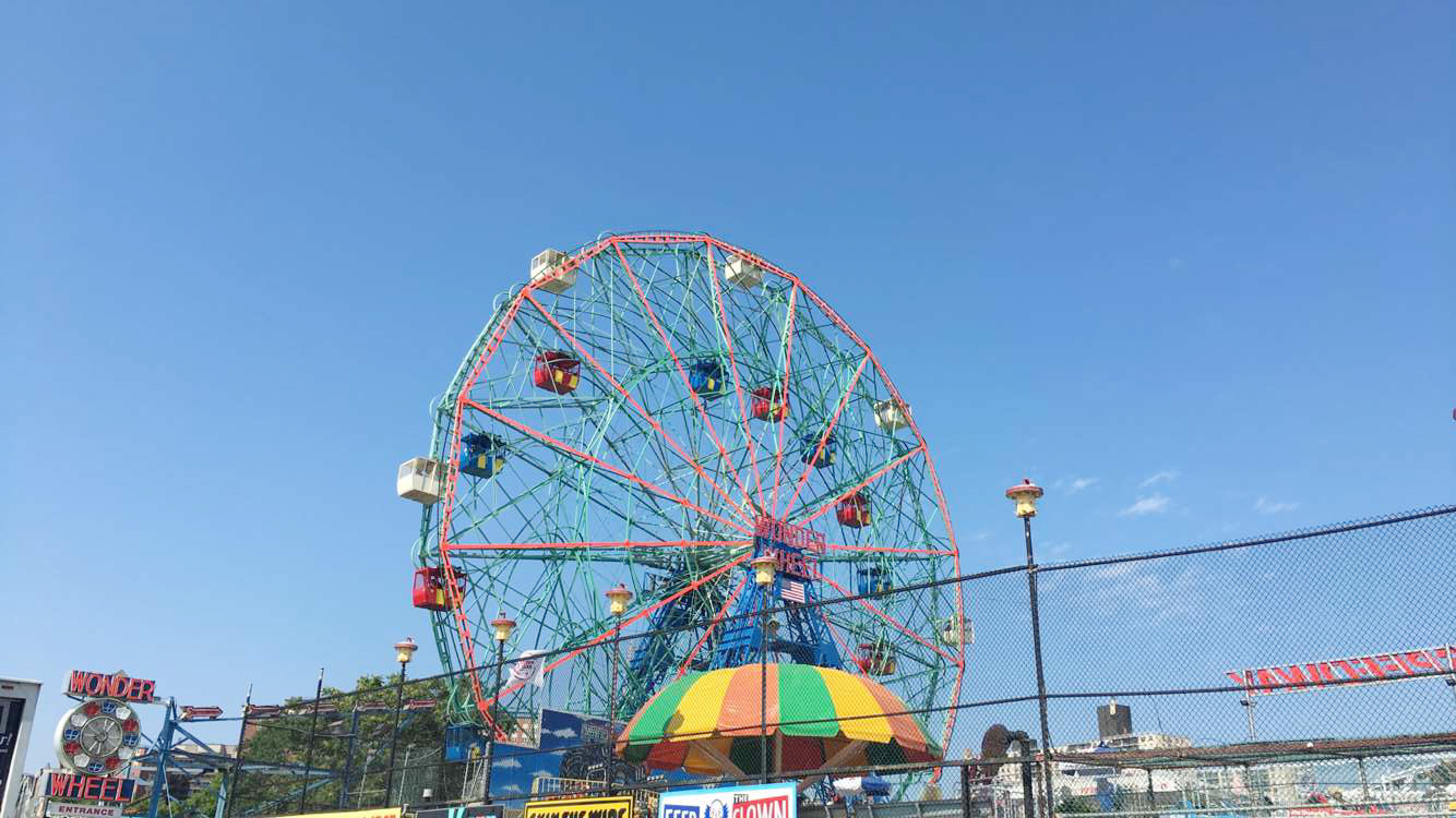Coney Island Ferris Wheel