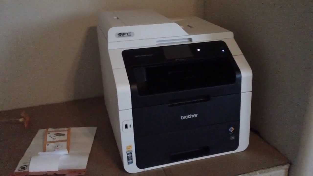 Brother MFC 9330CDW Wireless All In One Color Printer