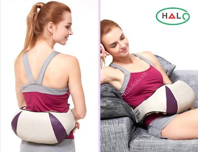 Đai massage vai gáy 3D Shika