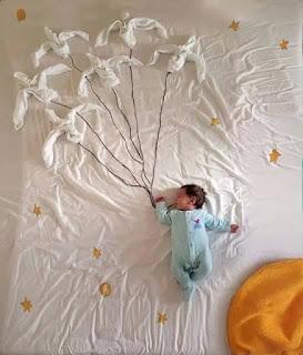 Ideas para fotos de bebés - el principito