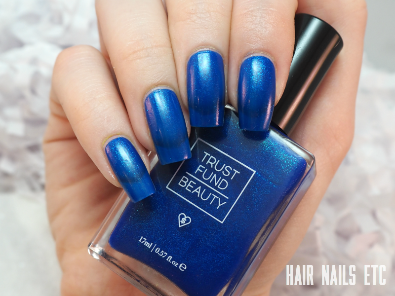 Trust Fund Beauty - Denim with Diamonds - Swatches and Review