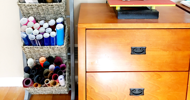 Craft Room Storage Solutions: Vinyl Storage Solution For Small Spaces (And First Look At