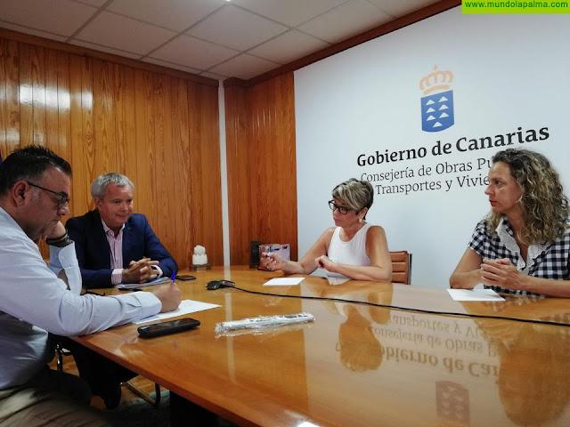 Sebastián Franquis se reúne con sectores institucionales y económicos de las islas para ultimar el nuevo Plan de Vivienda