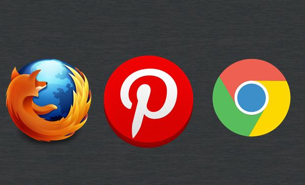إضافة زر Pin It Pinterest إلى جوجل كروم Chrome