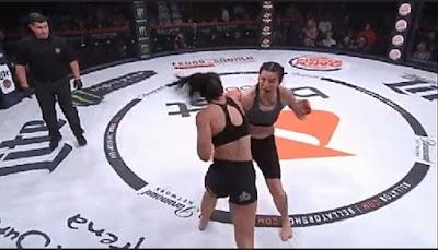 Bellator 207 Results : Janay Harding def. Sinead Kavanagh via TKO