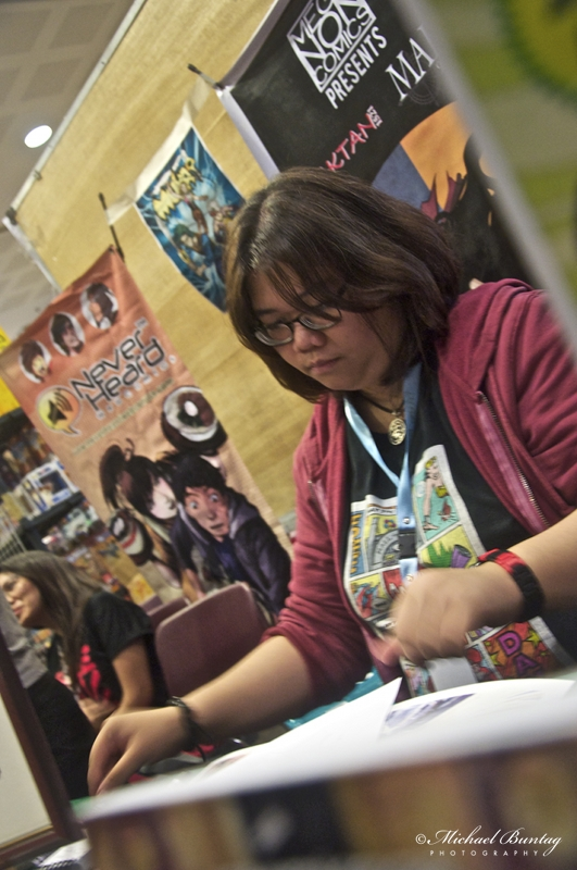 Tepai Pascual, Exhibit Hall, Komikon 2012