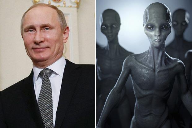 Reunião secreta entre Putin e Joe Biden revela invasão alienígena?